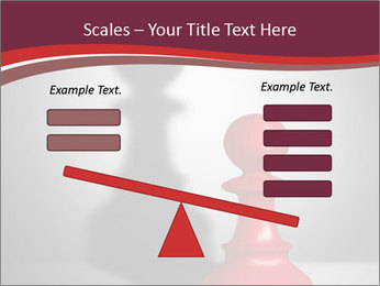 Red Chess Figure PowerPoint Template - Slide 89