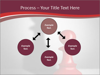 Red Chess Figure PowerPoint Template - Slide 91
