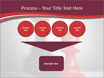 Red Chess Figure PowerPoint Template - Slide 93