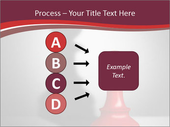 Red Chess Figure PowerPoint Template - Slide 94