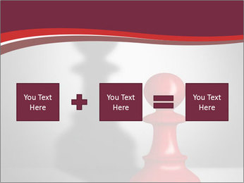 Red Chess Figure PowerPoint Template - Slide 95