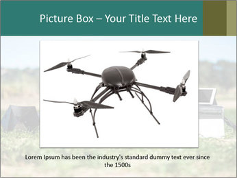 Military Drone PowerPoint Template - Slide 15