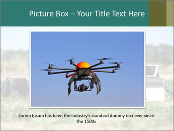 Military Drone PowerPoint Template - Slide 16
