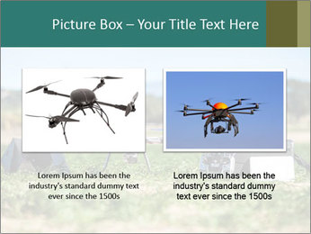Military Drone PowerPoint Template - Slide 18