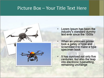 Military Drone PowerPoint Template - Slide 20