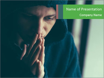 Last Hope For Man PowerPoint Template