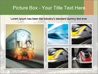Rail Accident PowerPoint Template - Slide 19