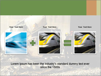 Rail Accident PowerPoint Template - Slide 22