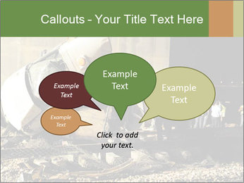Rail Accident PowerPoint Template - Slide 73