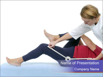 Massage Treatment PowerPoint Template - Slide 1