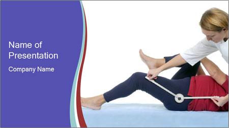 Massage Treatment PowerPoint Template