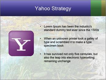 Lake During Autumn Season PowerPoint Template - Slide 11