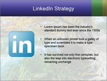 Lake During Autumn Season PowerPoint Template - Slide 12