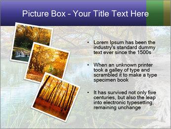 Lake During Autumn Season PowerPoint Template - Slide 17