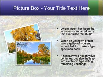 Lake During Autumn Season PowerPoint Template - Slide 20