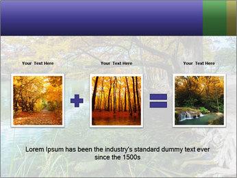Lake During Autumn Season PowerPoint Template - Slide 22