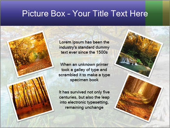 Lake During Autumn Season PowerPoint Template - Slide 24