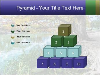 Lake During Autumn Season PowerPoint Template - Slide 31