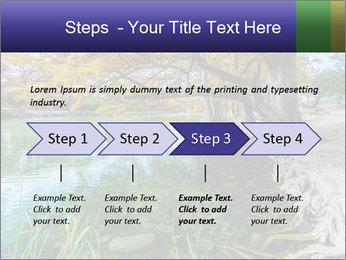 Lake During Autumn Season PowerPoint Template - Slide 4