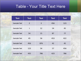 Lake During Autumn Season PowerPoint Template - Slide 55