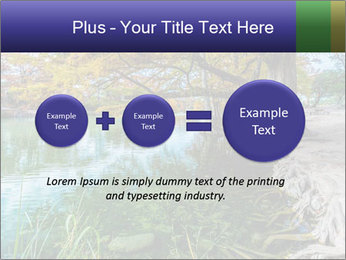 Lake During Autumn Season PowerPoint Template - Slide 75