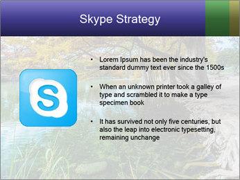 Lake During Autumn Season PowerPoint Template - Slide 8