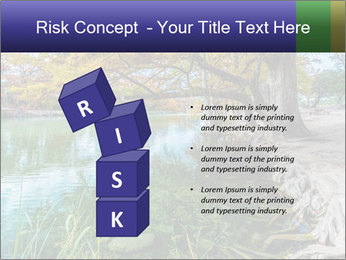 Lake During Autumn Season PowerPoint Template - Slide 81