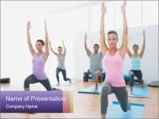 Full Yoga Class PowerPoint Template