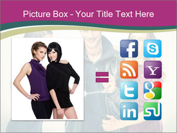 Swinger Couple PowerPoint Template - Slide 21