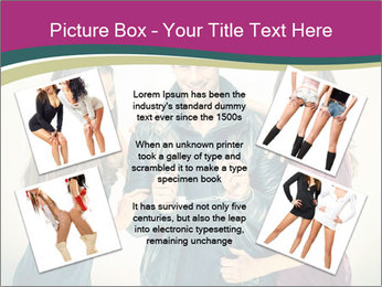 Swinger Couple PowerPoint Template - Slide 24