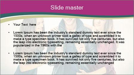 Swinger Couple PowerPoint Template - Slide 2