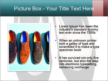 Pair Of Black High Hills Shoes PowerPoint Template - Slide 13