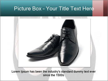 Pair Of Black High Hills Shoes PowerPoint Template - Slide 15