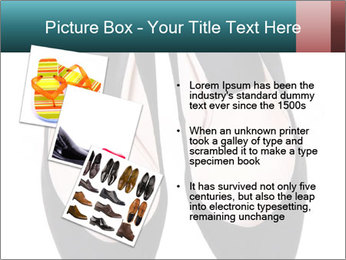 Pair Of Black High Hills Shoes PowerPoint Template - Slide 17