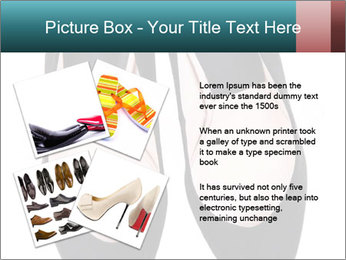 Pair Of Black High Hills Shoes PowerPoint Template - Slide 23