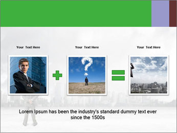 Smoggy City PowerPoint Template - Slide 22
