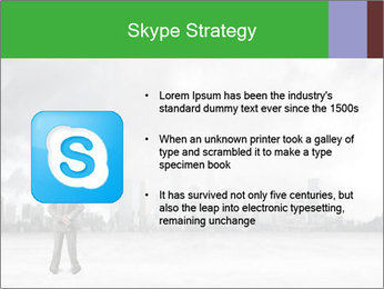 Smoggy City PowerPoint Template - Slide 8