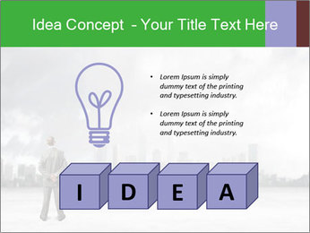 Smoggy City PowerPoint Template - Slide 80