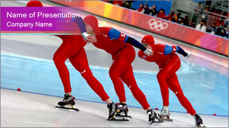 Olympic Competition PowerPoint Template