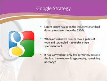 Woman Applying Cream PowerPoint Template - Slide 10