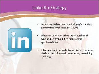 Woman Applying Cream PowerPoint Template - Slide 12