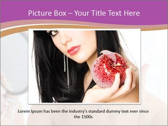 Woman Applying Cream PowerPoint Template - Slide 16