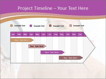 Woman Applying Cream PowerPoint Template - Slide 25