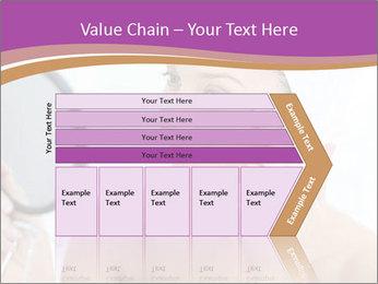 Woman Applying Cream PowerPoint Template - Slide 27