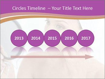 Woman Applying Cream PowerPoint Template - Slide 29