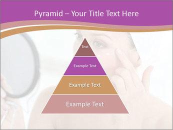 Woman Applying Cream PowerPoint Template - Slide 30