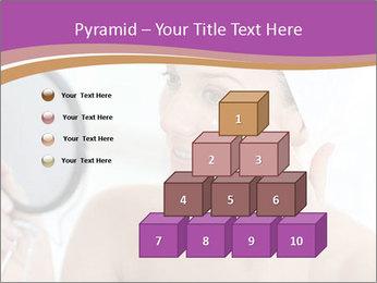 Woman Applying Cream PowerPoint Template - Slide 31