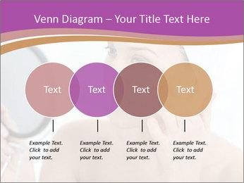 Woman Applying Cream PowerPoint Template - Slide 32