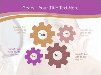 Woman Applying Cream PowerPoint Template - Slide 47