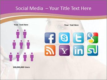 Woman Applying Cream PowerPoint Template - Slide 5